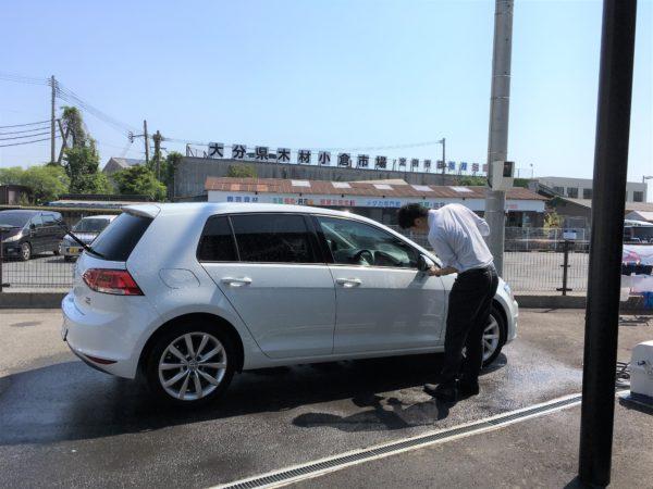 ワーゲン洗車